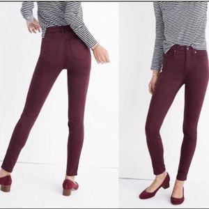 "NEW ITEM🍁Madewell 10"" Highrise Skinny Jean"